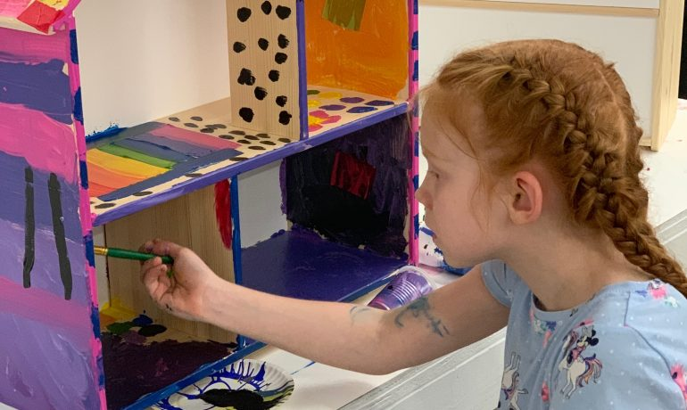 Summer Camp (Dollhouse Camp!) - August 9th - August 13th - HALF DAY
