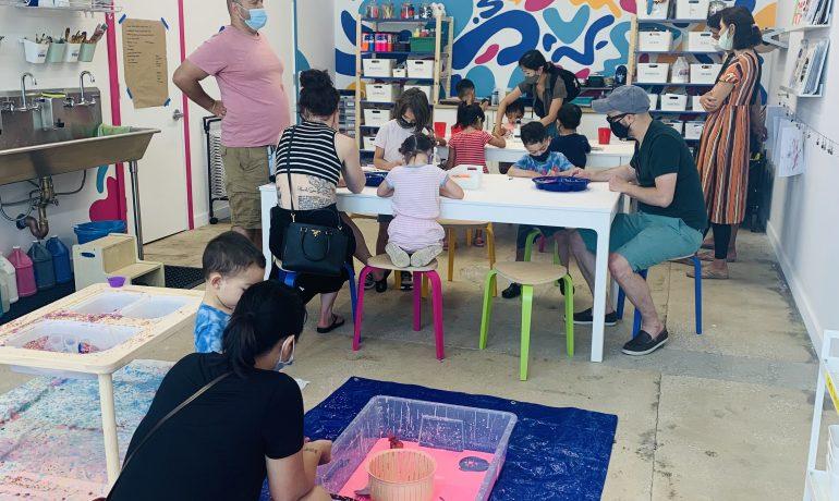 Family Open Studio ( 2 yrs - 9 yrs)